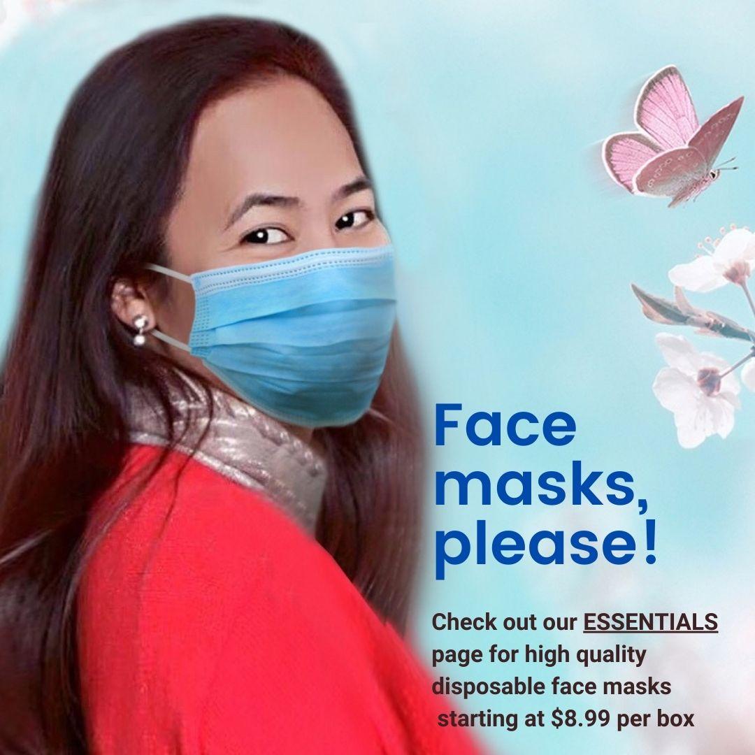Elisa face masks model